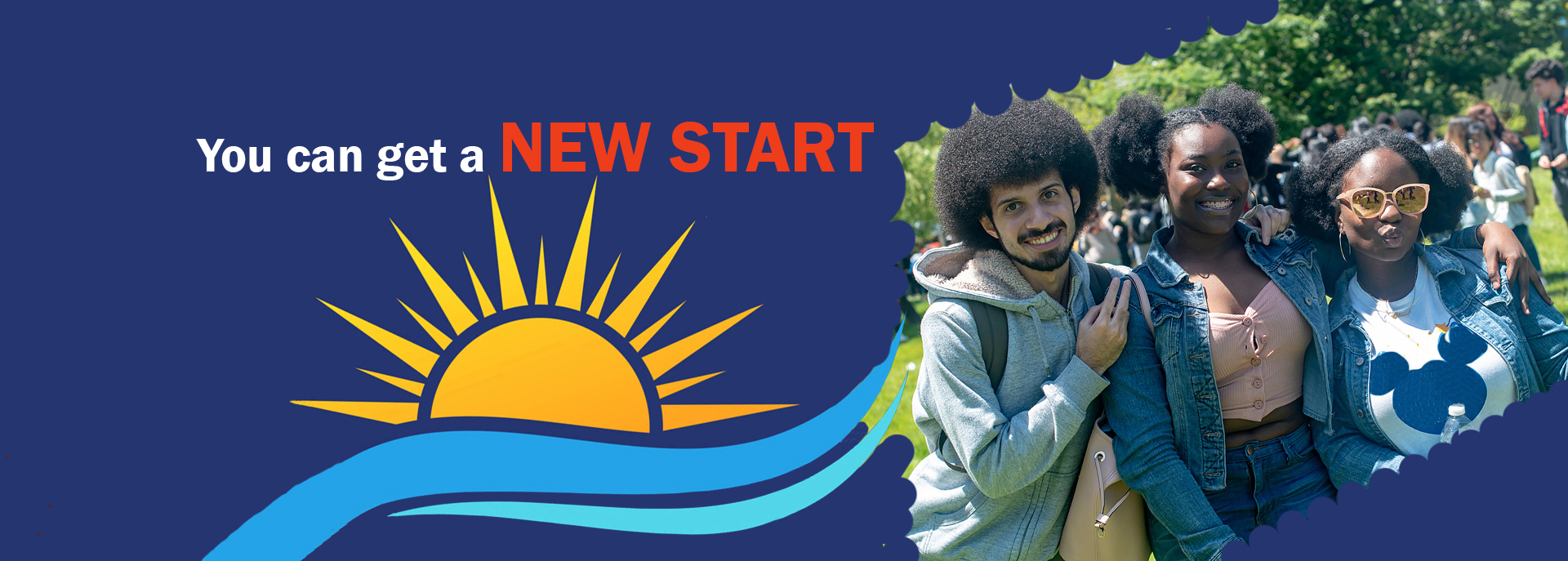 You can get a New Start