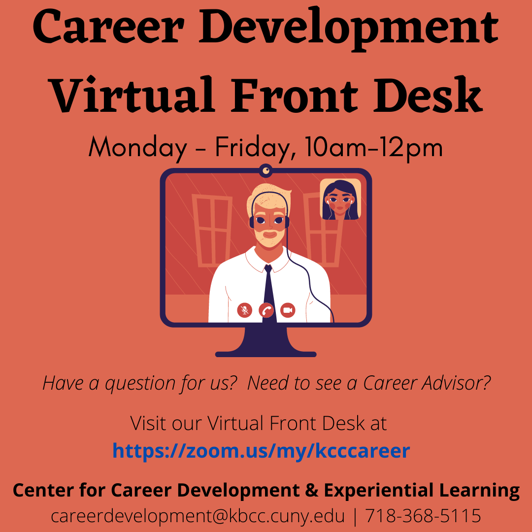 Virtual Front Desk - Zoom