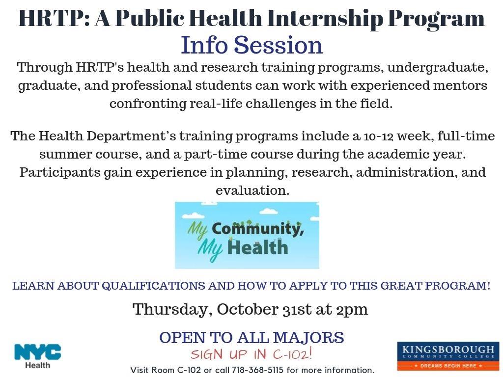 HRTP Internship Program