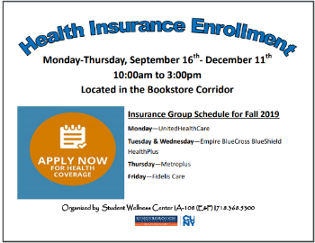 Heath Insurance Enrollment